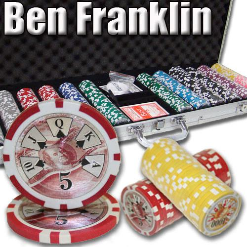 600 Ct - Pre-Packaged - Ben Franklin 14 G - Aluminum