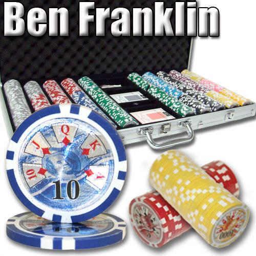 750 Ct - Pre-Packaged - Ben Franklin 14 G - Aluminum