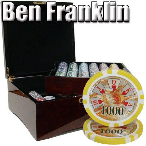 750 Ct - Pre-Packaged - Ben Franklin 14 G - Mahogany