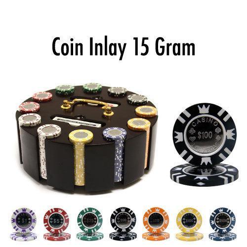 300 Ct - Custom - Coin Inlay 15 Gram - Wooden Carousel