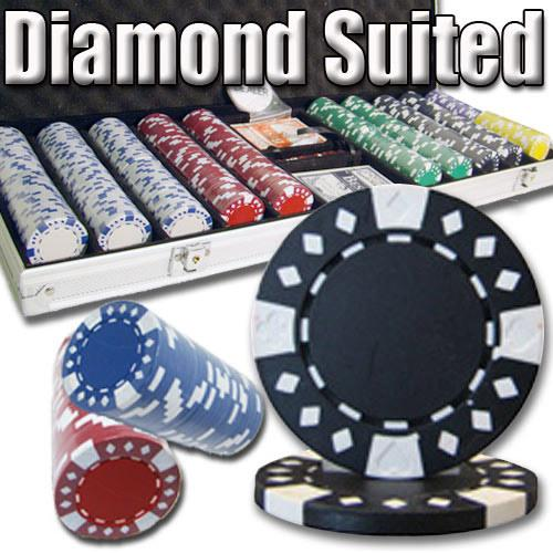500 Ct - Pre-Packaged - Diamond Suited 12.5 G - Aluminum