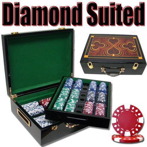 500 Ct - Pre-Packaged -  Diamond Suited 12.5g - Hi Gloss
