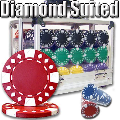600 Ct - Pre-Packaged - Diamond Suited 12.5 G - Acrylic