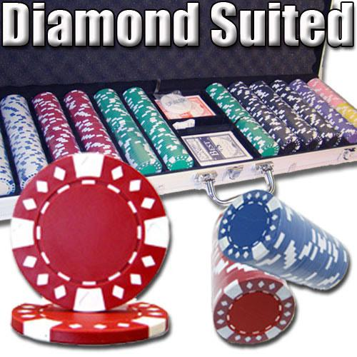 600 Ct - Custom Breakout - Diamond Suited 12.5 G - Aluminum