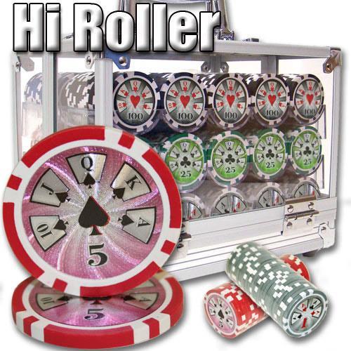 600 Ct - Custom Breakout - Hi Roller 14 G - Acrylic
