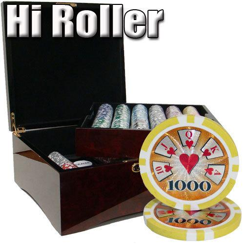 750 Ct - Pre-Packaged - Hi Roller 14 G - Mahogany