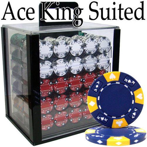 1,000 Ct - Pre-Packaged - Kings Casino 14 G - Acrylic