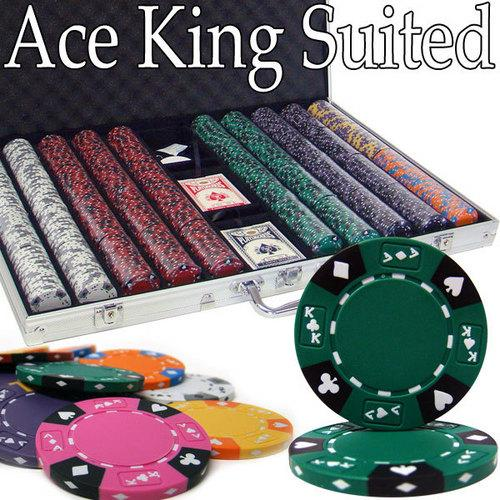 1,000 Ct - Pre-Packaged - Kings Casino 14 G - Aluminum