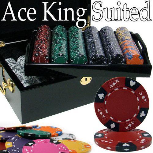 500 Ct - Pre-Packaged - Kings Casino 14 G - Black Mahogany