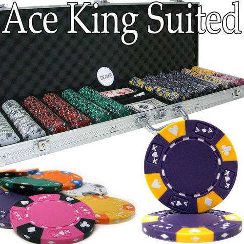 600 Ct - Pre-Packaged - Kings Casino 14 G - Aluminum