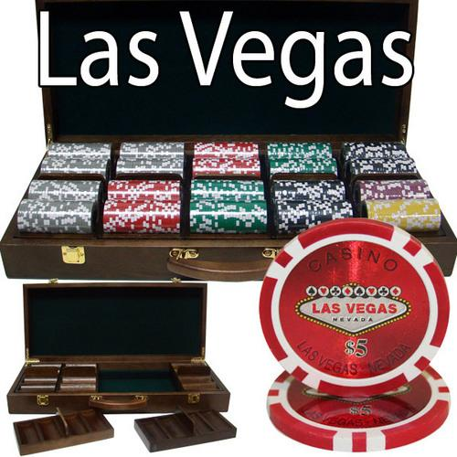 500 Ct - Pre-Packaged - Las Vegas 14 G - Walnut Case