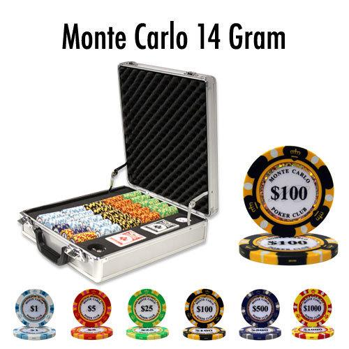500 Ct - Pre-Packaged - Monte Carlo 14 Gram - Claysmith
