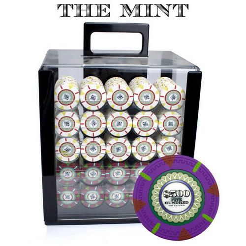 1000Ct Custom Claysmith Gaming 'The Mint' in Acrylic