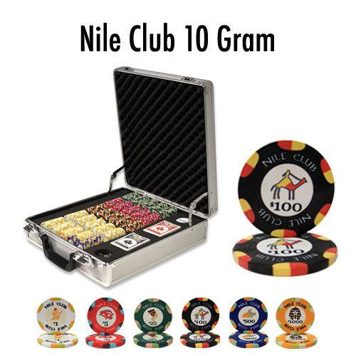 500 Ct -Pre-Packaged - Nile Club 10 G - Claysmith