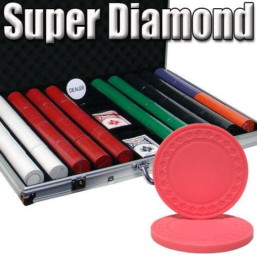 Custom Breakout 1,000 Ct Super Diamond Chip Set - Aluminum