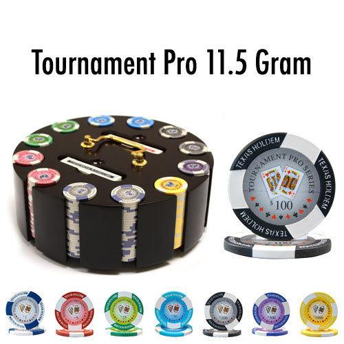 300 Ct - Pre-Packaged - Tournament Pro 11.5G Wooden Carousel
