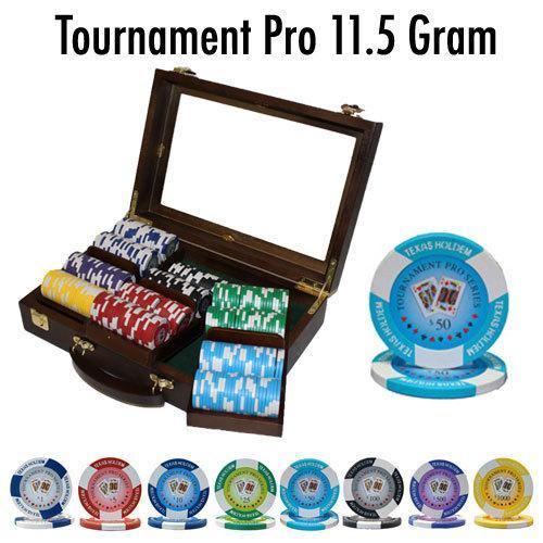 300 Ct - Custom Breakout - Tournament Pro 11.5G - Walnut