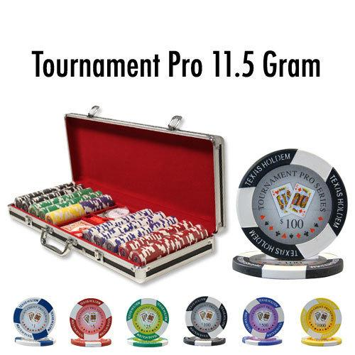 500 Ct - Pre-Packaged - Tournament Pro 11.5G Black Aluminum