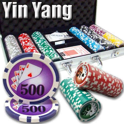 300 Ct - Pre-Packaged - Yin Yang 13.5 G - Aluminum