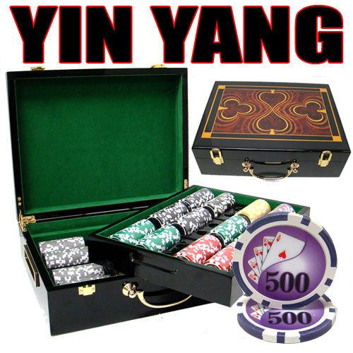 500 Ct - Pre-Packaged - Yin Yang 13.5 G - Hi Gloss