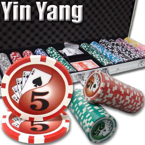 600 Ct - Pre-Packaged - Yin Yang 13.5 G - Aluminum