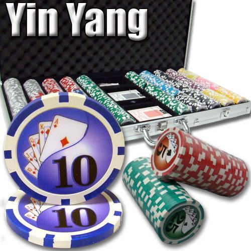 750 Ct - Pre-Packaged - Yin Yang 13.5 G - Aluminum