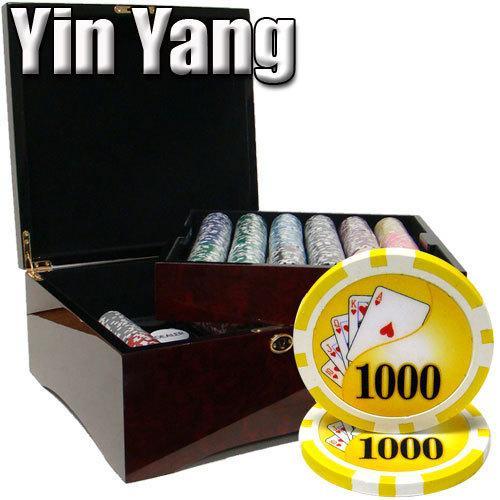750 Ct - Pre-Packaged - Yin Yang 13.5 G - Mahogany