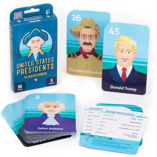 Presidents Flashcards