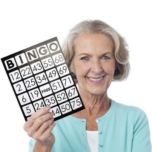 EZ Readers Jumbo Bingo Cards, Pack of 50