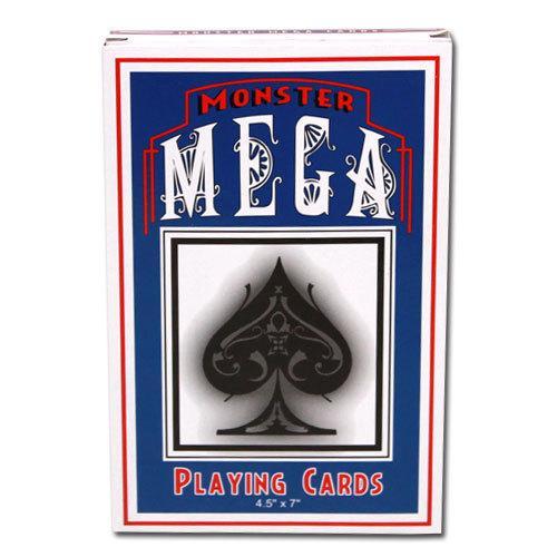 "Jumbo Oversize Playing Cards 4.5""x7"""