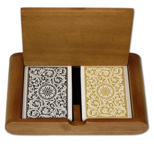 1546 Black Gold Poker Size Jumbo Box Set