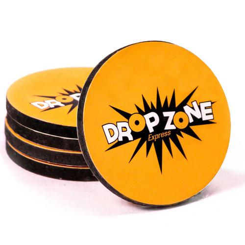 5 pack of replacement Drop Zone Express pucks
