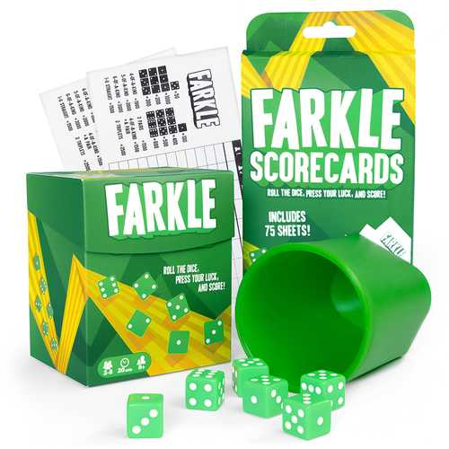 Farkle and 75 Scorecards Bundle
