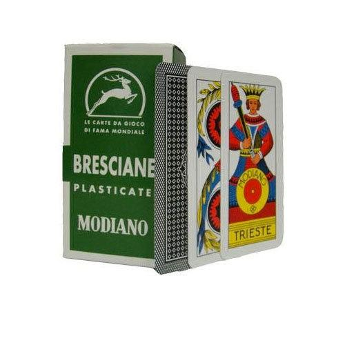 Deck of Bresciane Italian Regional Playing Cards