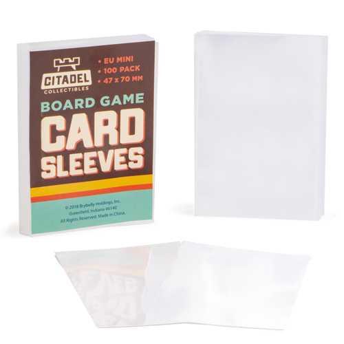 Eurpoean Mini Board Game Sleeves, 100-pack