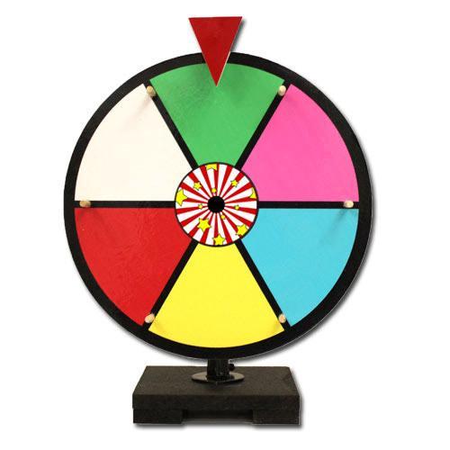 """12"""" Color Dry Erase Prize Wheel"""