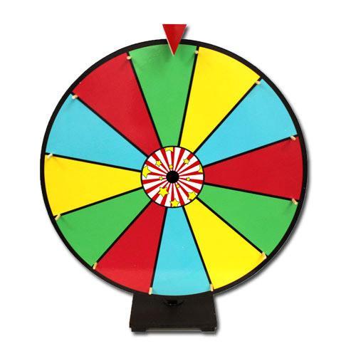 """24"""" Color Dry Erase Prize Wheel"""