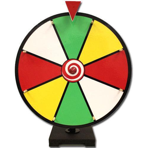 """16"""" Color Dry Erase Prize Wheel"""