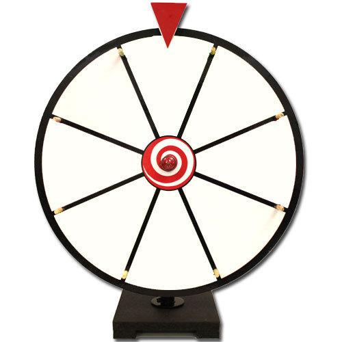 """16"""" White Dry Erase Prize Wheel"""
