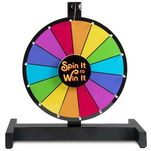 """12"""" Color Prize Wheel"""