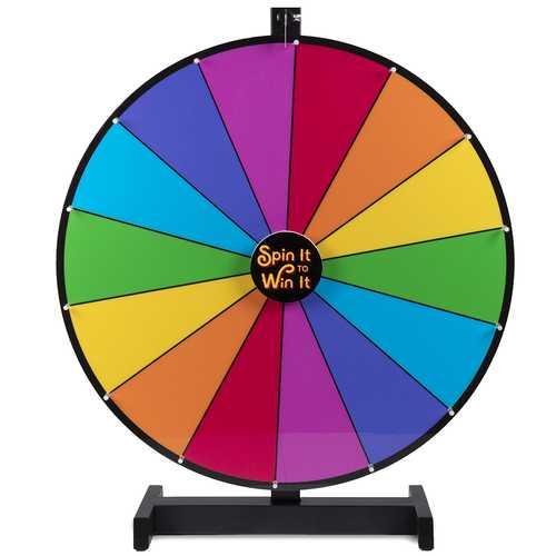"""24"""" Color Prize Wheel"""