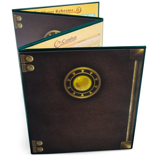 The Master's Tome Customizable DM Screen, Green