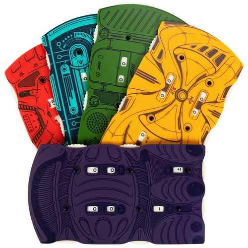 Sci-fi Health Trackers, 5-pack