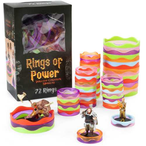 Rings of Power Tabletop Condition Markers