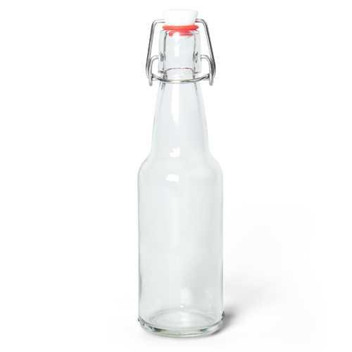 11 Oz Clear Glass Bottles