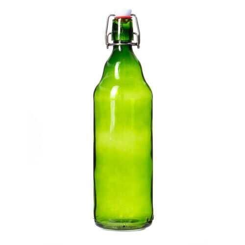 33 oz Green Grolsch Bottle