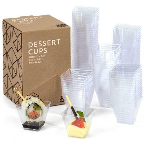 100-pack Mini Dessert Cups, 2oz.