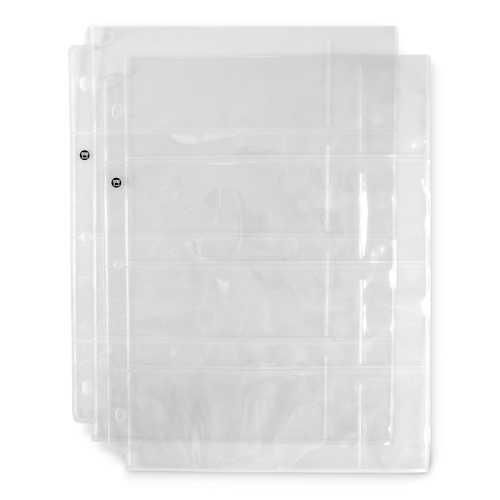 4-pocket US Bill Sleeves, 20-pack