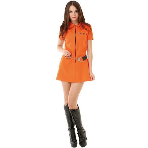 Intimate Inmate Adult Costume, L