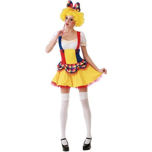 Cutie Clown Adult Costume, M